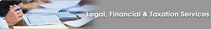 Legal, Financial& Taxation Services